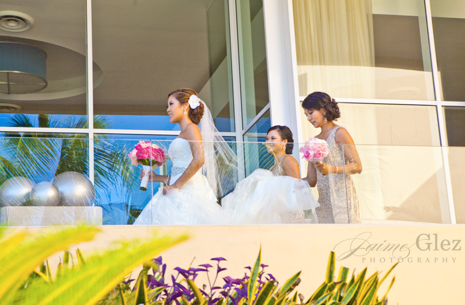now jade riviera cancun wedding photos 15