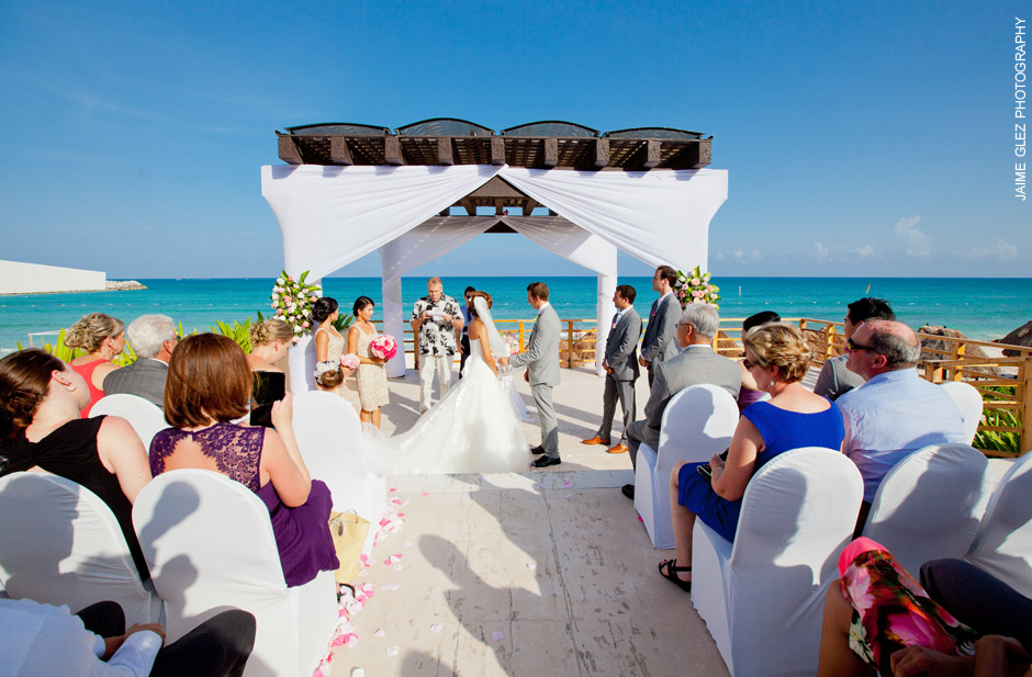 now jade riviera cancun wedding photos 11