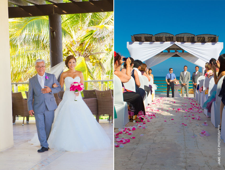 now jade riviera cancun wedding photos 12