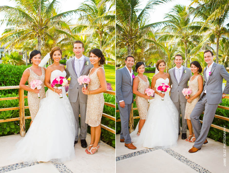 now jade riviera cancun wedding photos 6