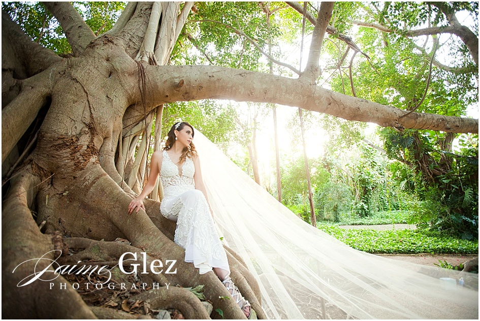 A wonderful spot for the bride's photo session.