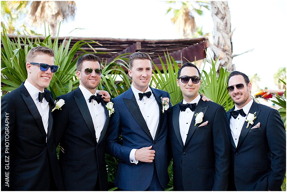 Groom and groomsmen, great attire!