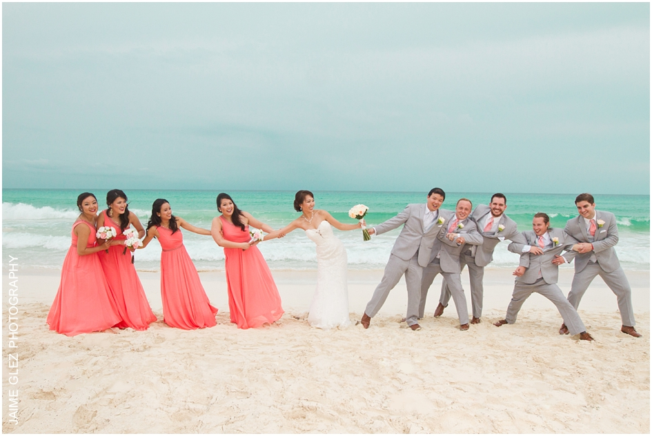 Sandos cancun luxury wedding 28