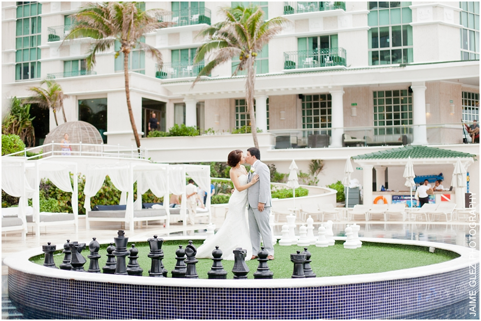 Sandos cancun luxury wedding 13