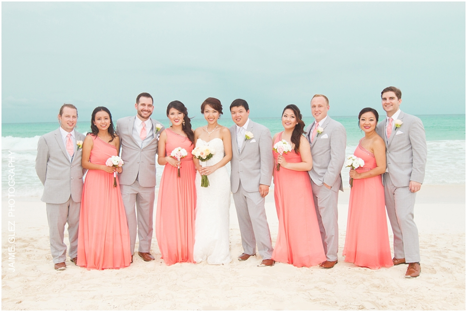 Sandos cancun luxury wedding 27