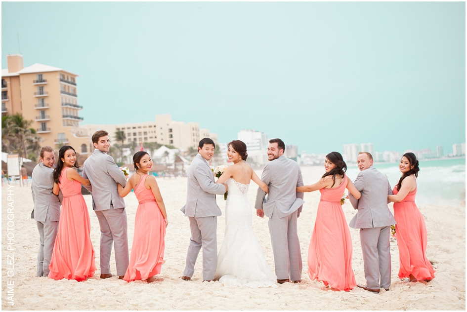 Sandos cancun luxury wedding 29