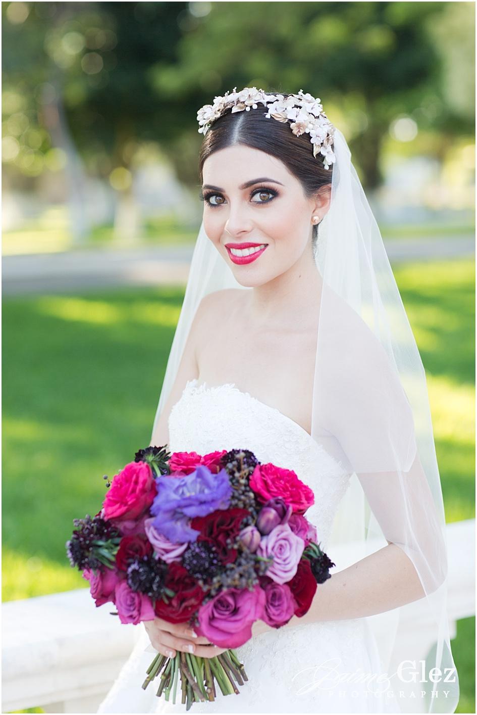 La belleza de una novia llena de ilusión y amor.