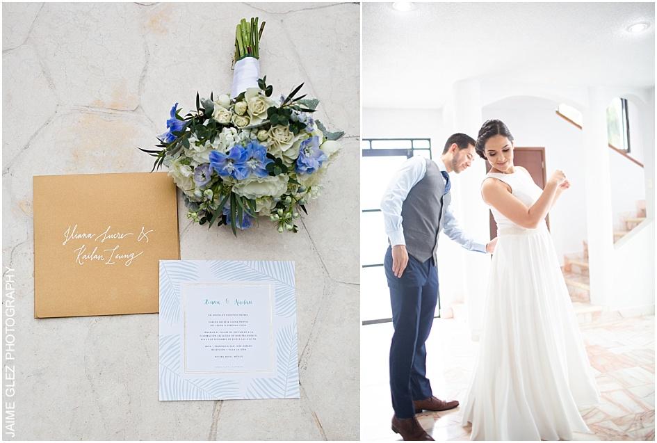 villa la joya wedding riviera maya 3