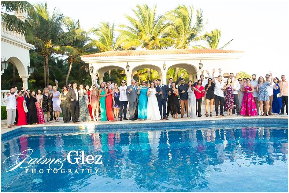 villa la joya wedding riviera maya 22