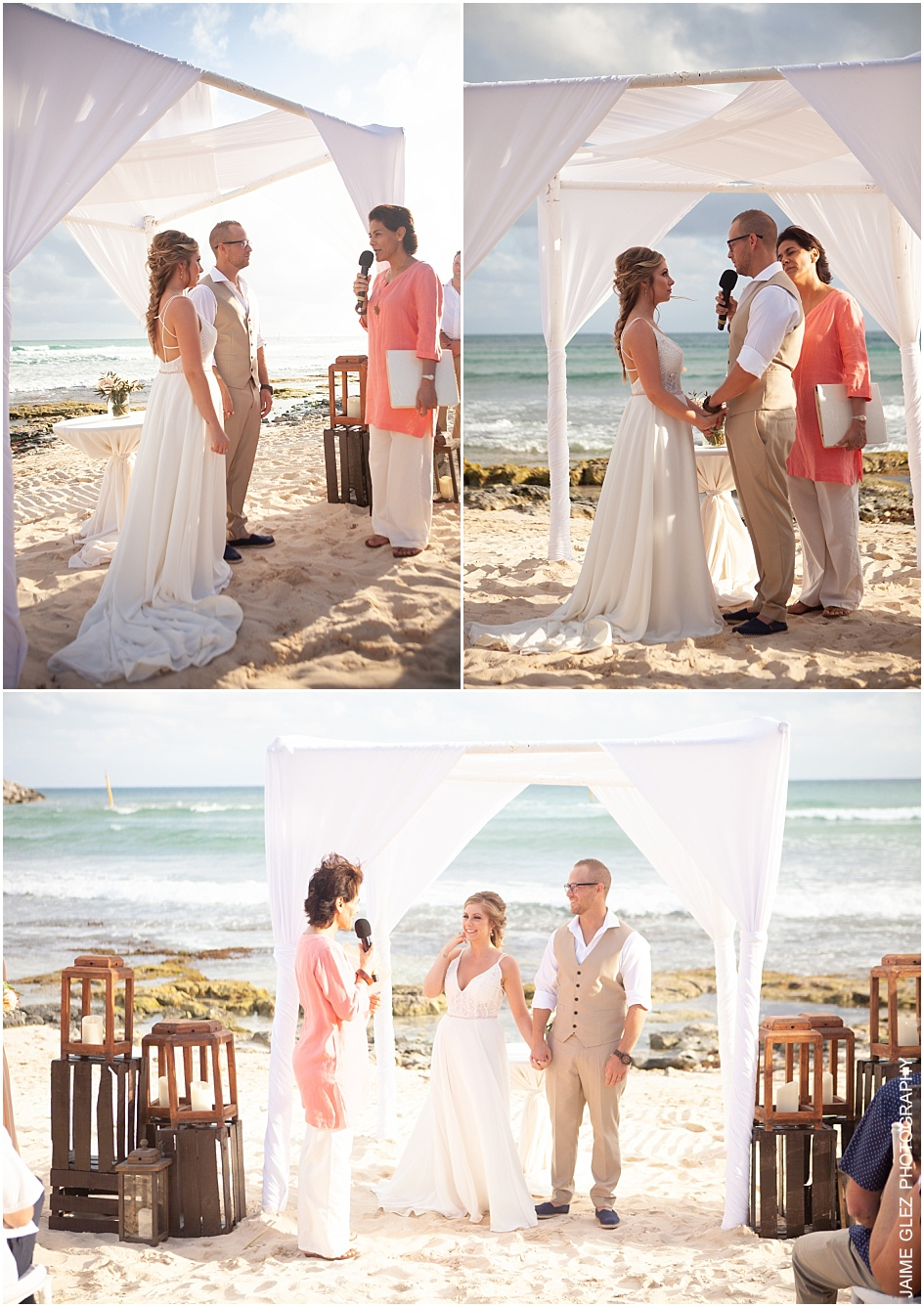 now jade riviera cancun wedding pictures 13