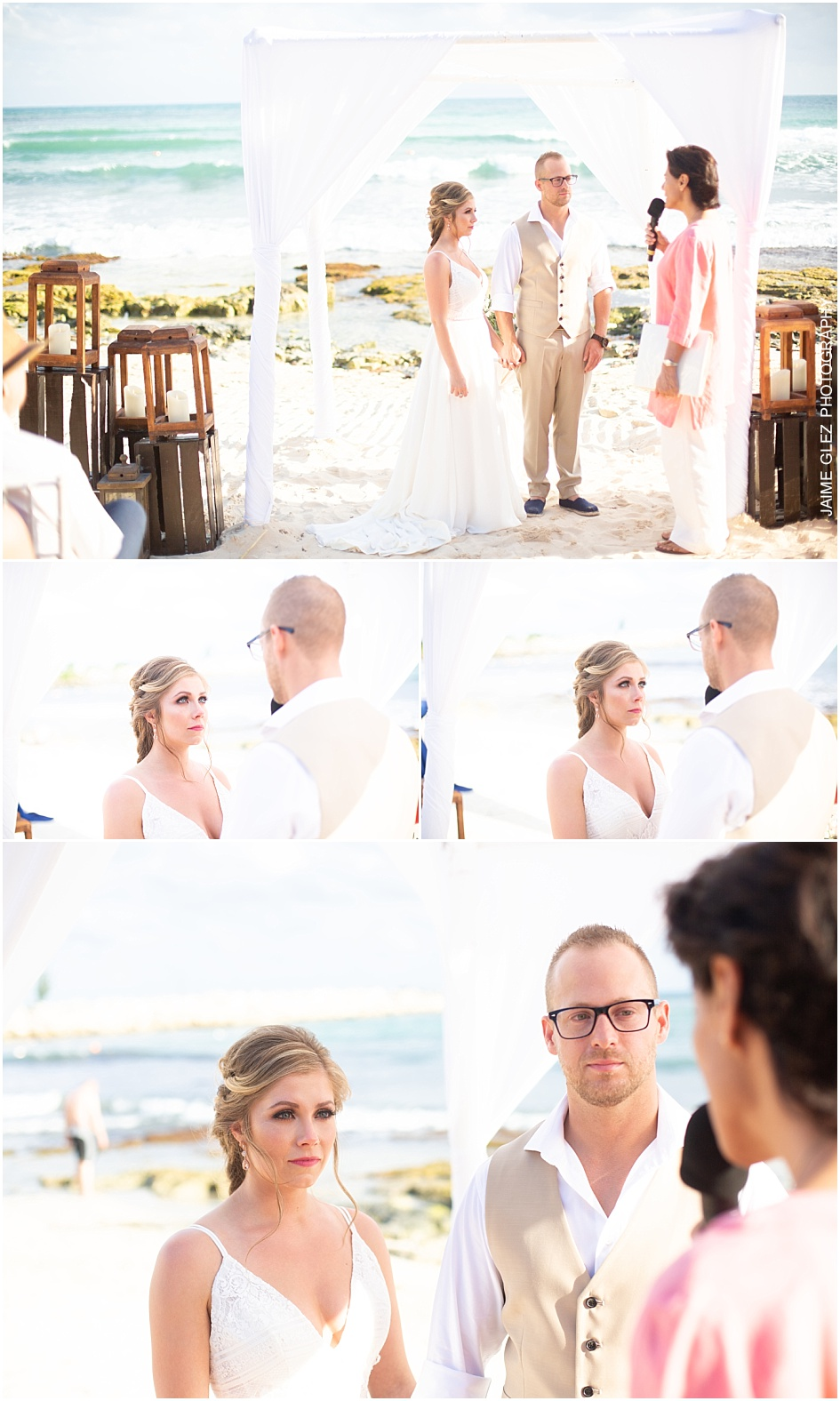 now jade riviera cancun wedding pictures 12