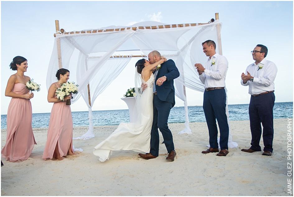 finest resort playa mujeres wedding 28