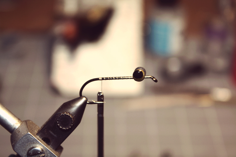 mount some dumbbell eyes on top of a streamer hook