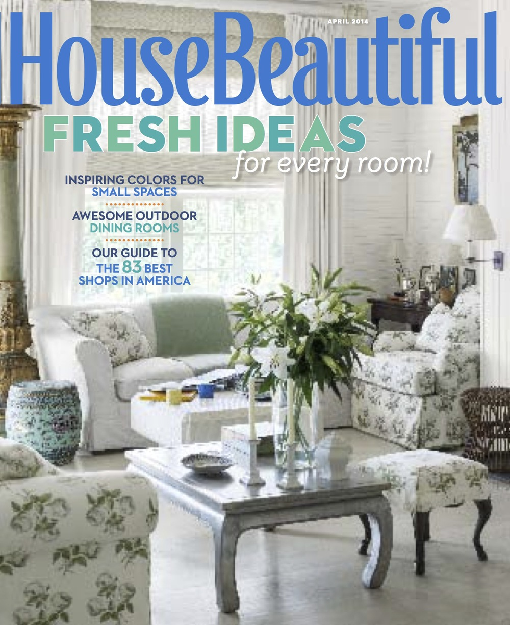 Living Room House Beautiful Mag blog melinda page a cover mention
