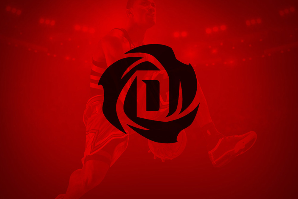 The Derrick Rose logo was created by Quentin Brehler.