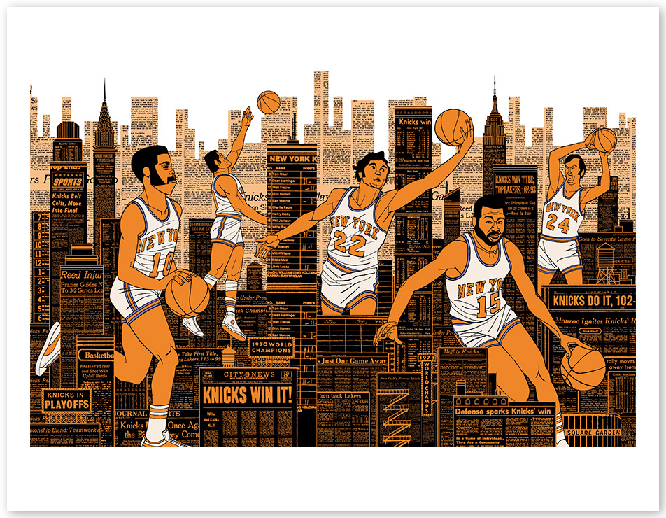 "The Knicks ""Talk of the Town"""