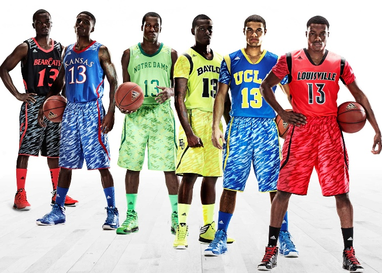 Adidas NCAA basketball uniforms