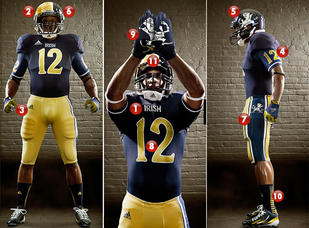 Irish football uniforms introduced in 2012