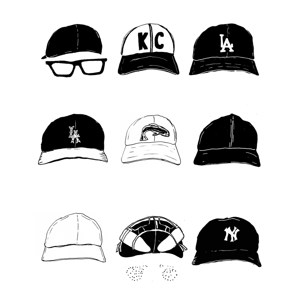 989a7dd4862 ... baseball signed by Babe Ruth and the other is an illustration of all  the hats that the kids wear in the movie. The hat one is available for sale  here.