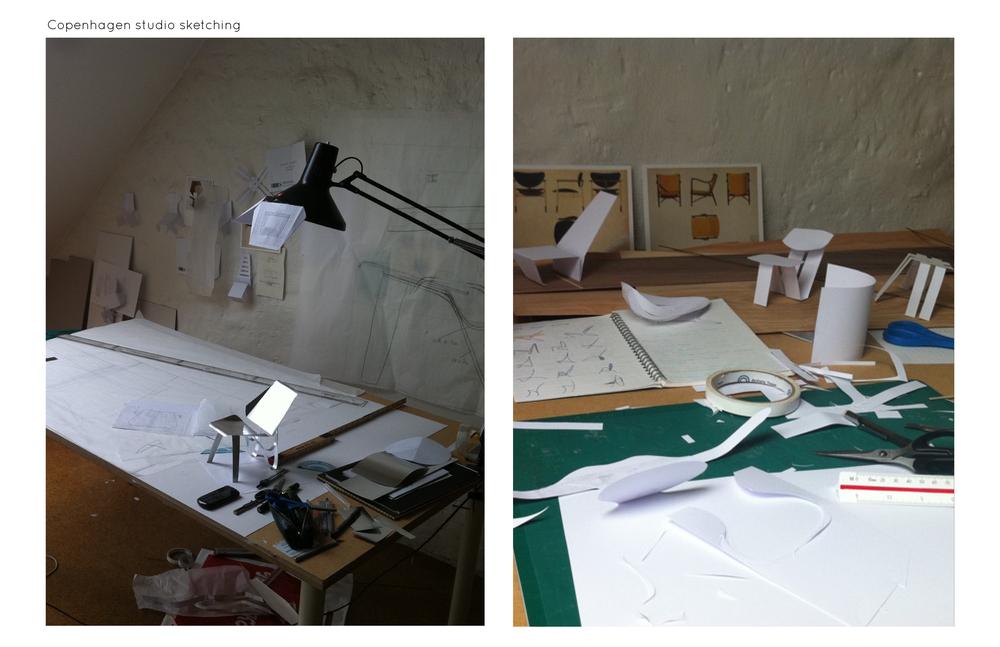 Eight week long summer program in Copenhagen, Denmark. Assigned to the Veneer group in the Furniture design department.