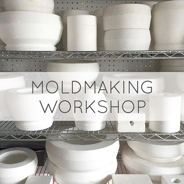 I will be co-teaching Mold Making and Intro to Slip casting workshop on 2/26 and the 3/12 in Brooklyn at @franca_nyc - if you are interested in participating check out the link in my bio 🍶