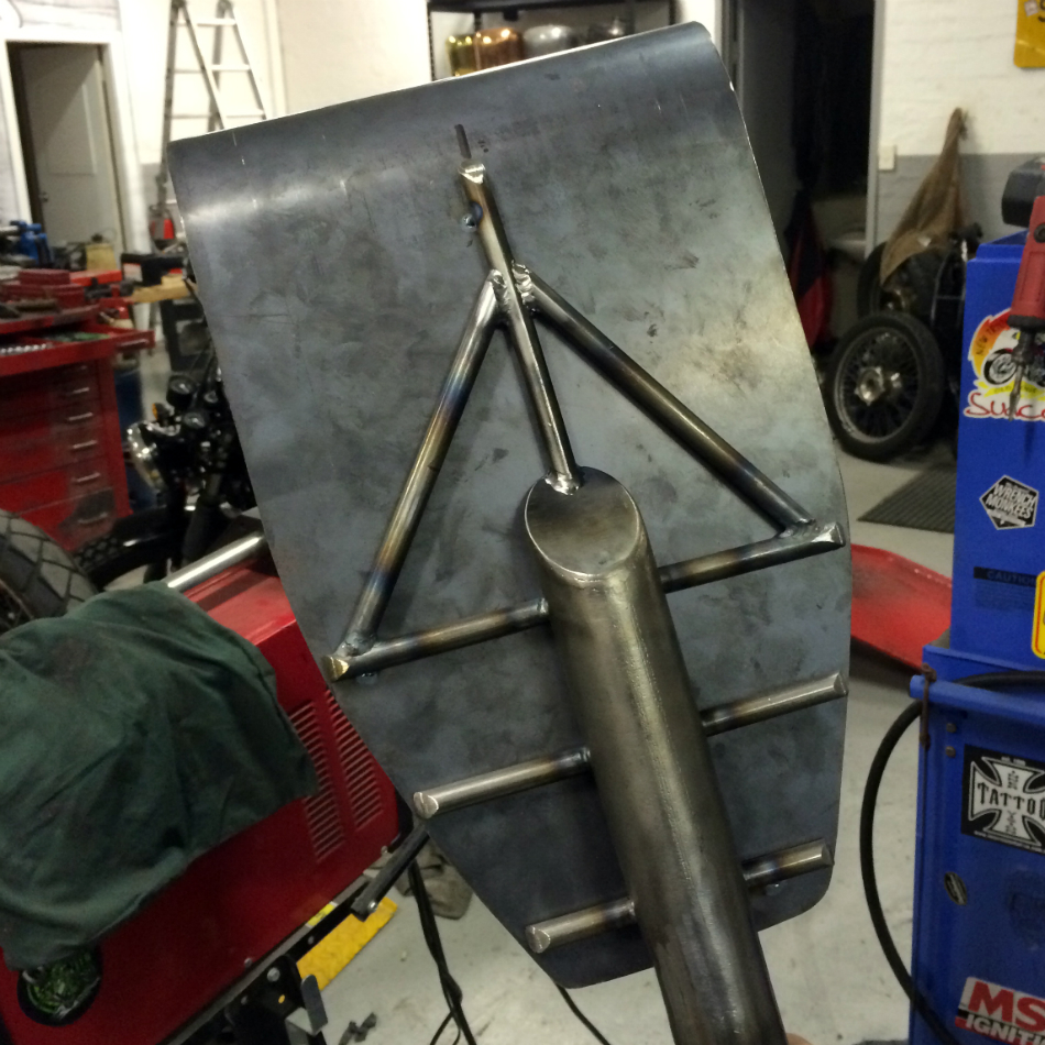 Custom Rear Sub-frame Welded To Seat Pan