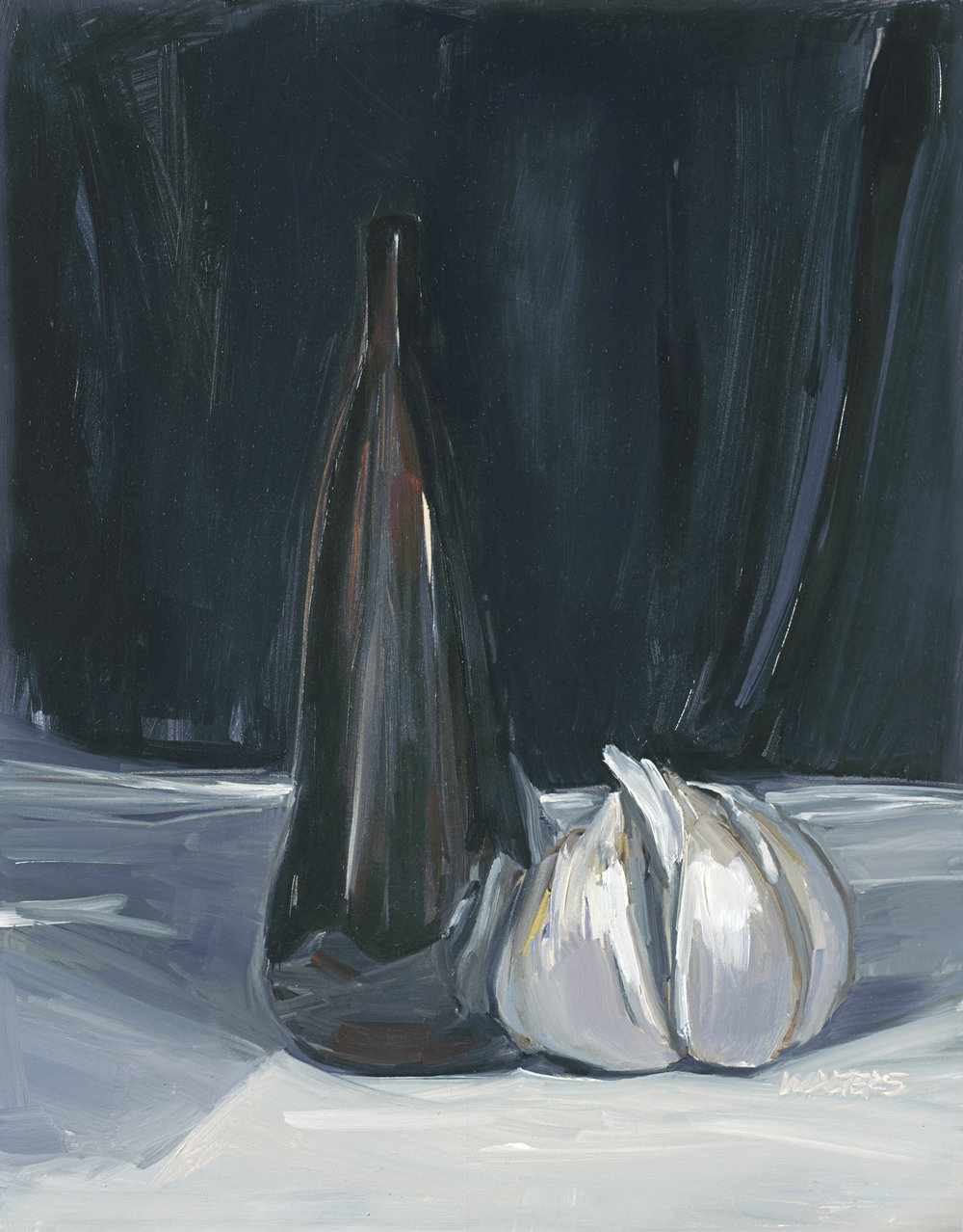 Garlic still life with glass bottle.jpg