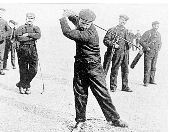 James Buchan Swings in 1905