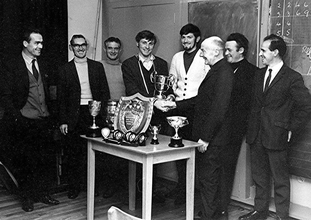 Golf Prize Giving in 1960's