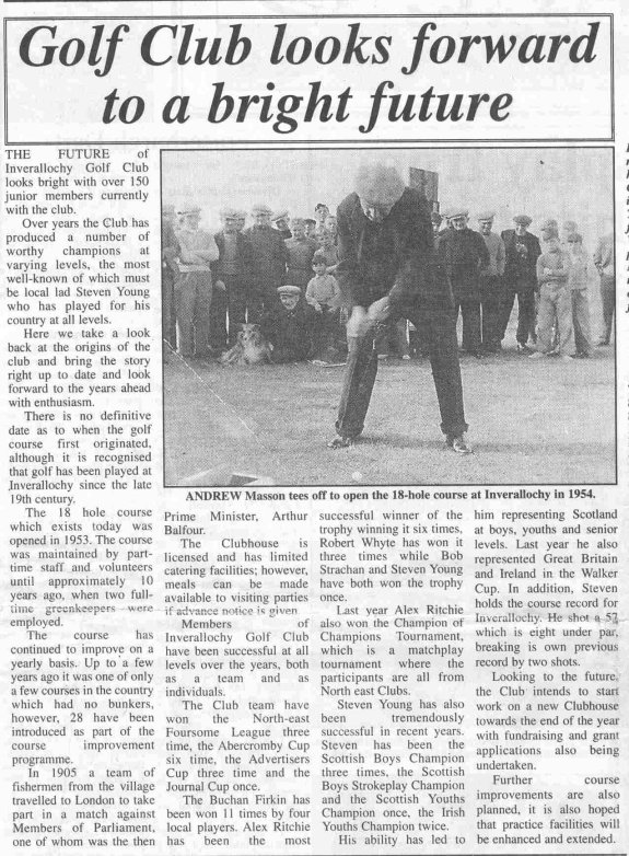 Fraserburgh Herald, 13th March 1998