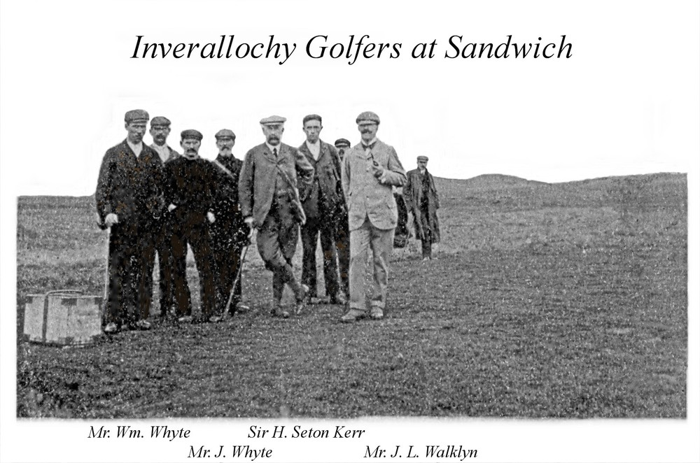 Golfers at Sandwich