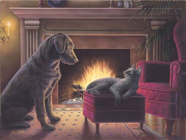 Fireside by Kim Norlien