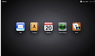 icloud in your web browser