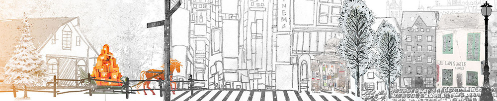 Third rough showing 80% of the background image that'll be used for the 40 second animation.