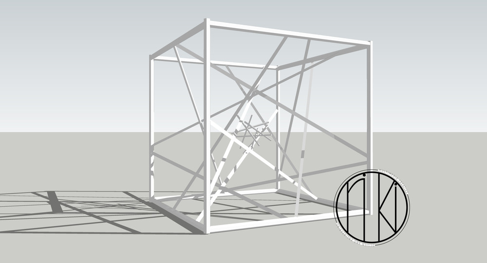 CAD draft of the structure design