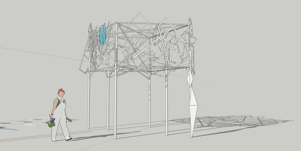 work in progress CAD of Glacier