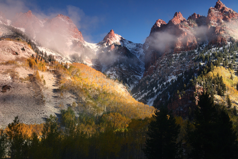 Clearing Storm, Maroon Bells