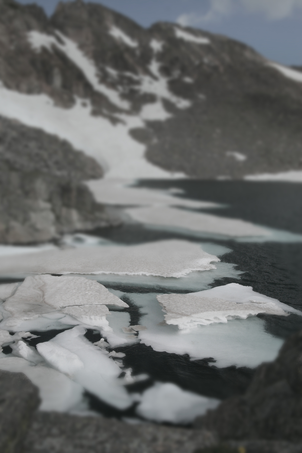 Floating Ice, Arapaho Pass