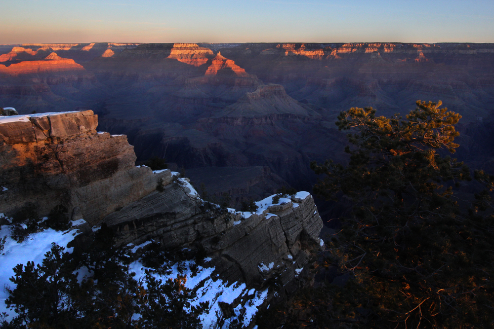 Sunrise, Mather Point