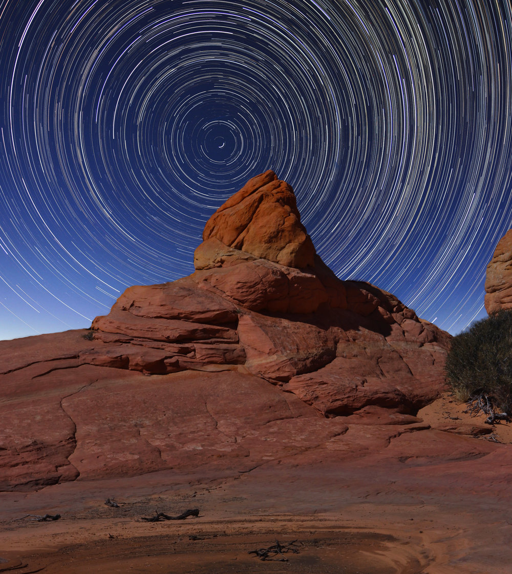 Night, Coyote Buttes