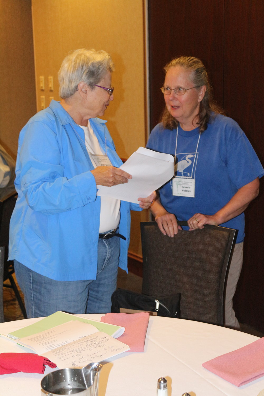 Judy Kelly & Bev Walters