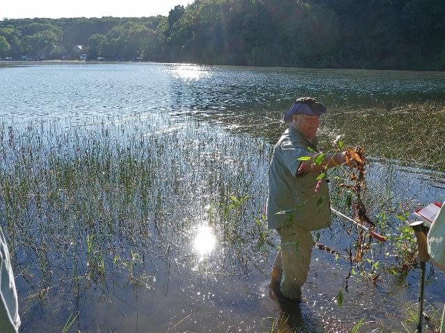 Garrett Crow at Pretty Lake