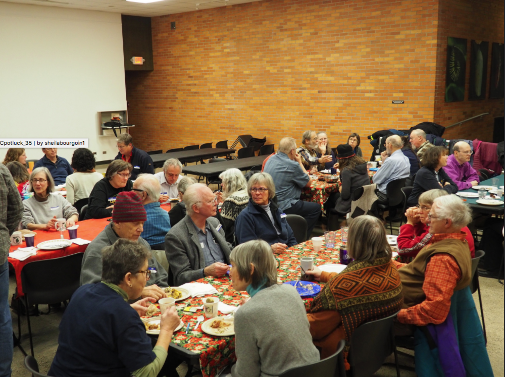Click on the picture above to go to a Flickr album with photos from the January 2017 Potluck. The album will open in a new window.