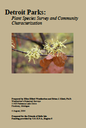 "Download this pdf ""Detroit Parks: Plant Species Survey and Community Characterization"" with complete descriptions and plant lists."