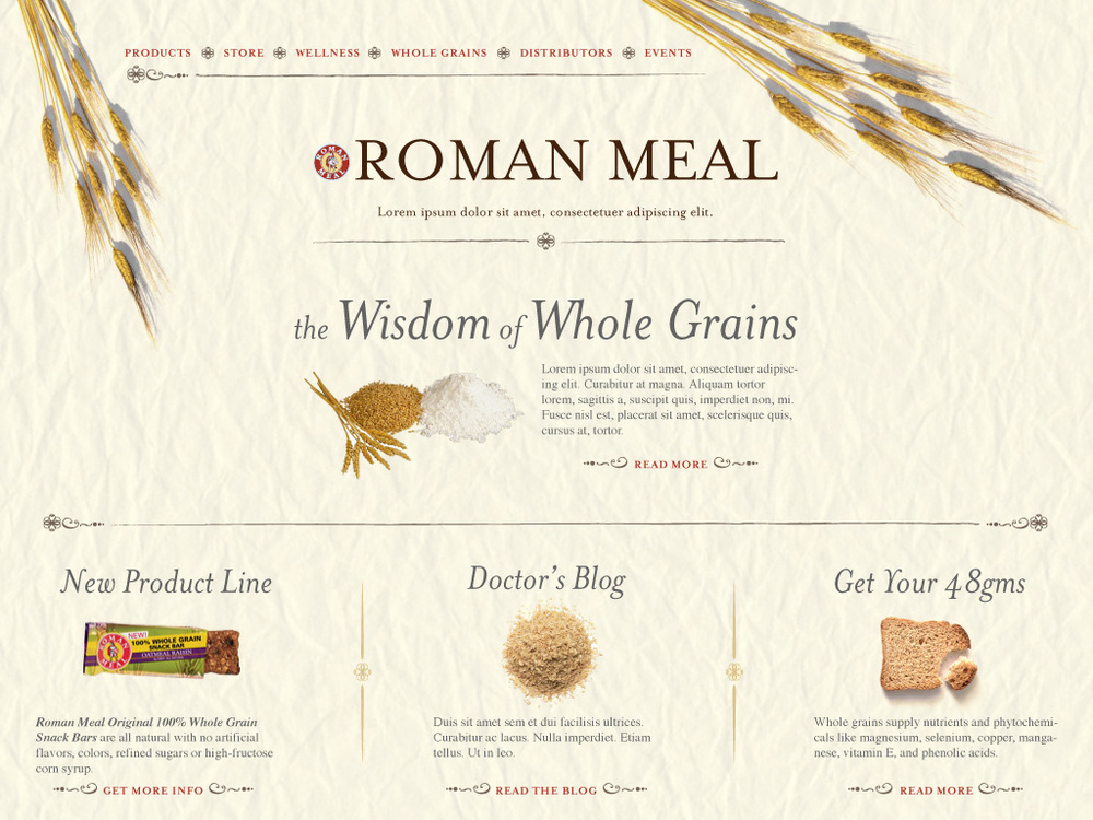 Website: Roman Meal Bread