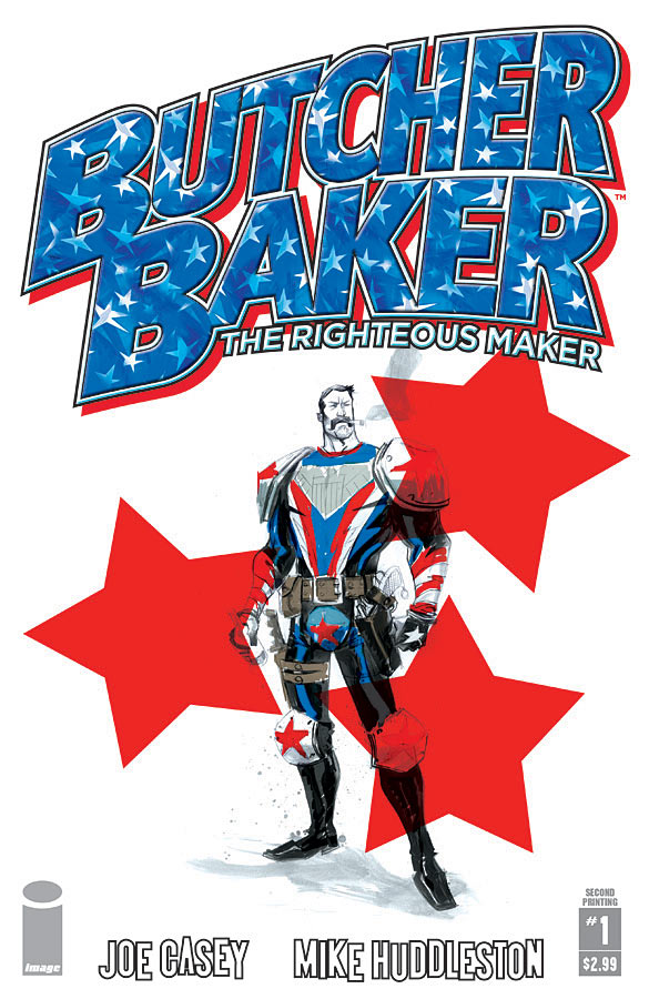 Book & Logo: Butcher Baker The Righteous Maker #1