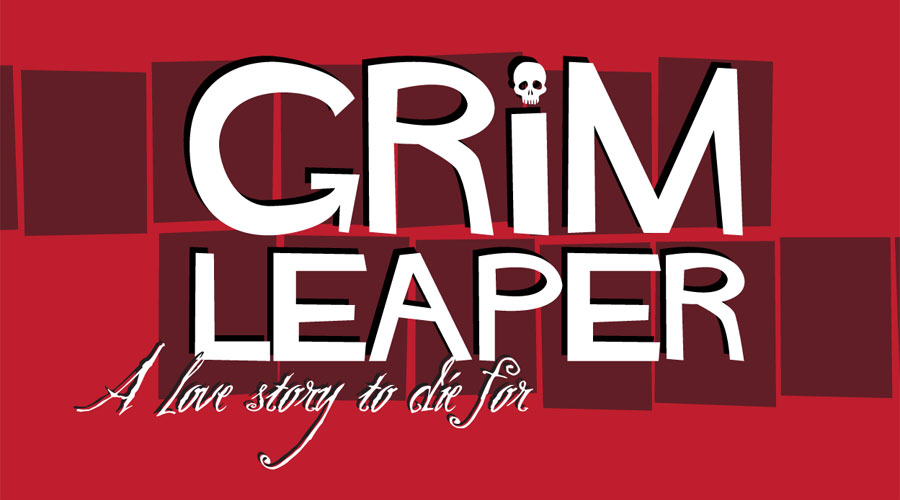 Grim Leaper Logo & Cover Layout