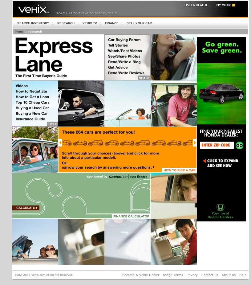 Website: Express Lane