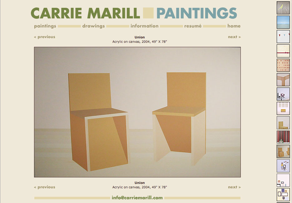 Website: Carrie Marill