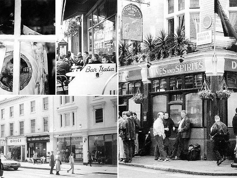 Book: Vidal Sassoon Guide to London (photos)